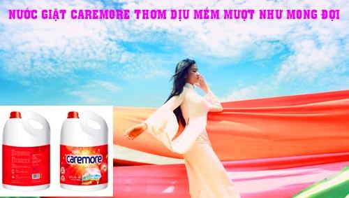 Nước giặt thơm dịu Caremore