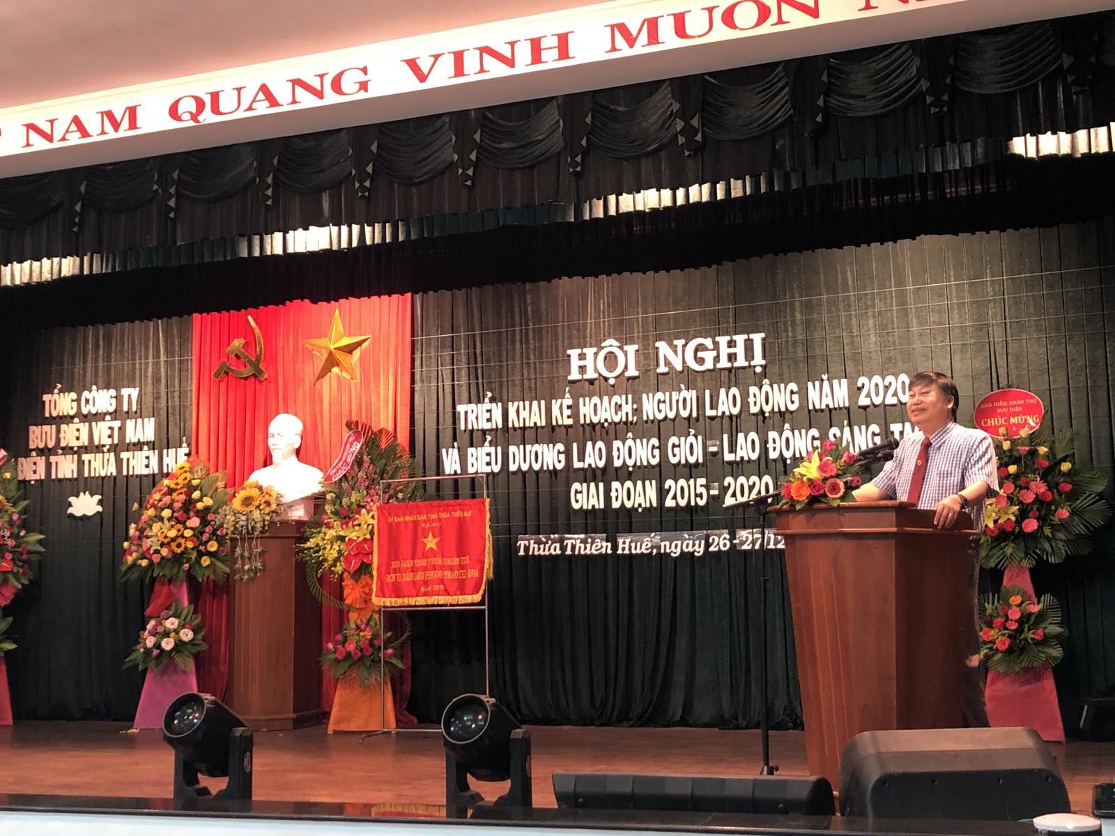 Đồng chí Trưởng Ban Tuyên giáo Tỉnh ủy phát biểu chỉ đạo Hội nghị