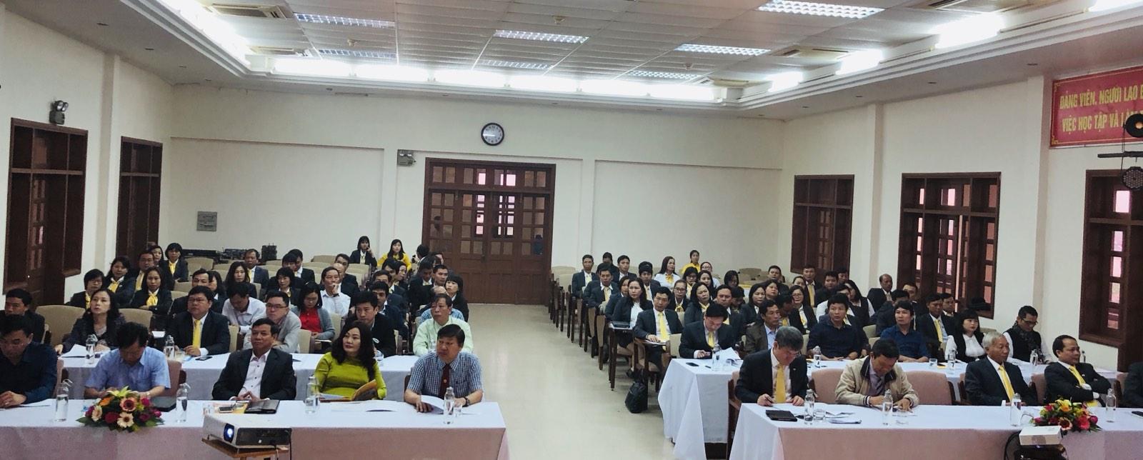 Quang cảnh Hội nghị Triển khai kế hoạch năm 2020 Bưu điện tỉnh Thừa Thiên Huế